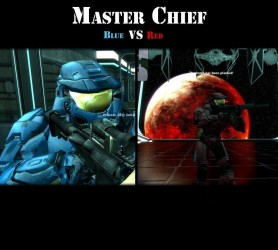 Masterchief Skins Red vs. Blue Screenshot