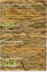Advanced Respawnsystem *New* by Jackmaster Screenshot