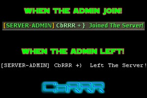 Server-Admin Join [By CbRRR] Screenshot