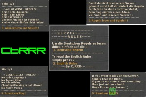 Regeln/Rules (English and German)  Screenshot
