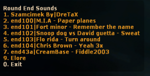 Round End Sound Names  Screenshot