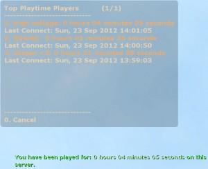 Playtime Tracker Screenshot
