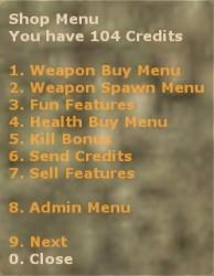 Extended Shop Menu (Updated 20/02/2013) Screenshot