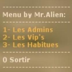 Listes des Admins, Vip's et Habitués ! ScreenShot