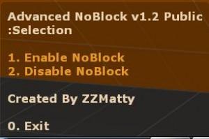 Advanced Noblock ScreenShot