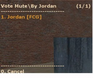 Vote Mute Screenshot